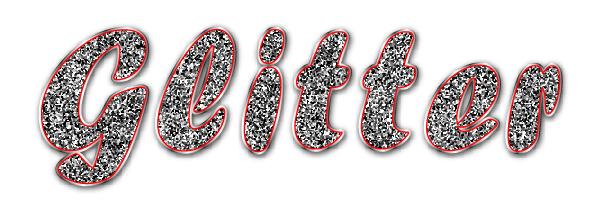How to Create a Vector Glitter Text Art Effect.