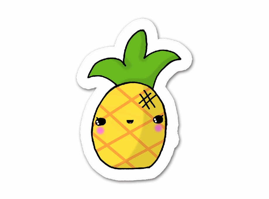 Cool Pineapples Cute Digital Clipart, Commercial Use Free PNG Images.