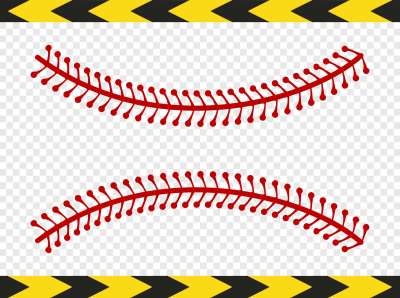Download Free png Baseball laces stitches Softball Svg Clipart.