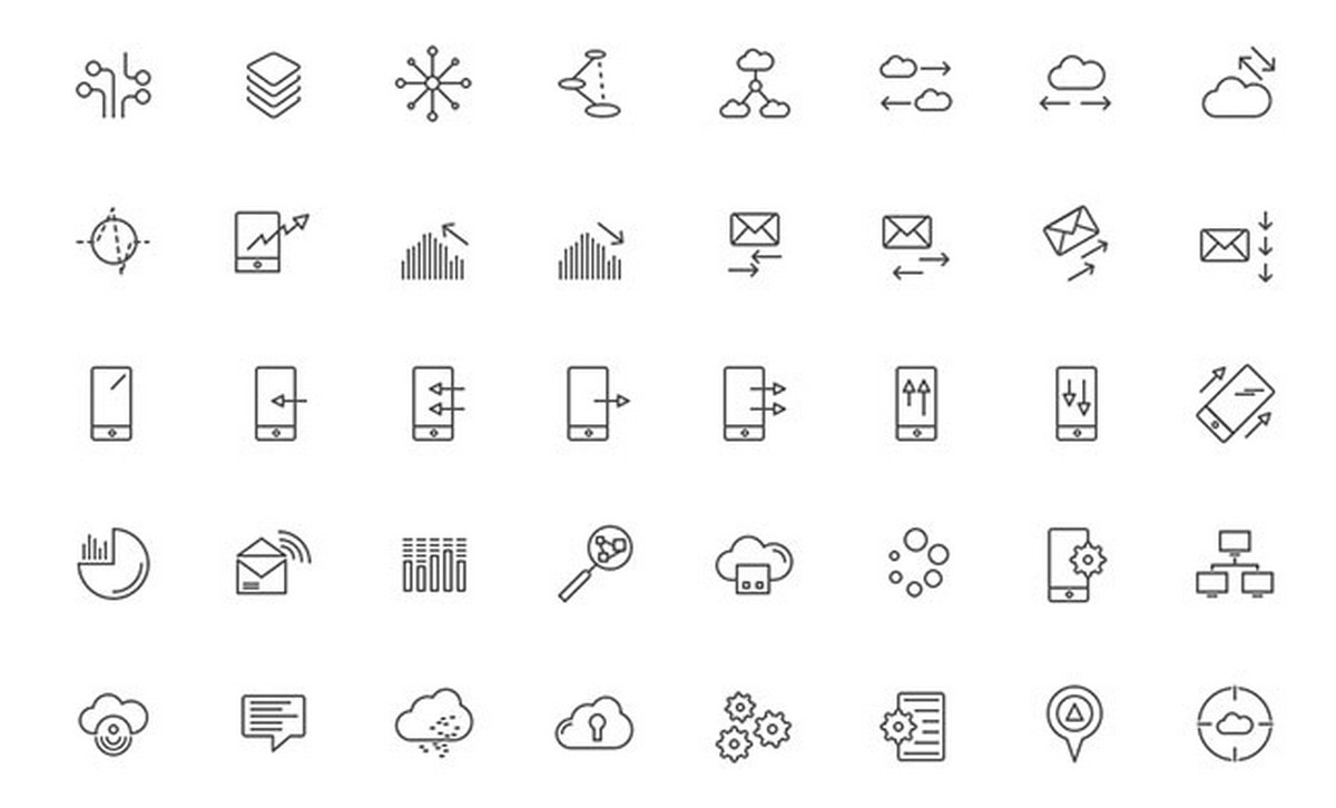 Best Free Web Icon Packs for 2018.