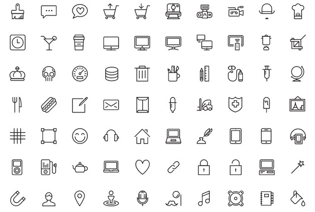Best of 2015: 100 Great Free Icon Packs.