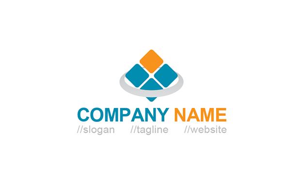 Free Simple Square Logo Template » iGraphic Logo.