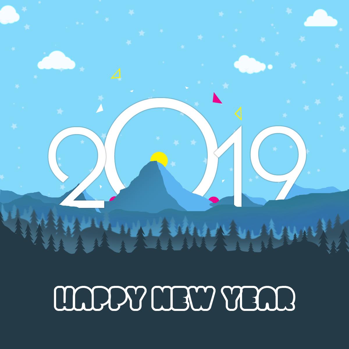 New Year 2019 New Year Graphic, New Year Logo 2018, New Year.