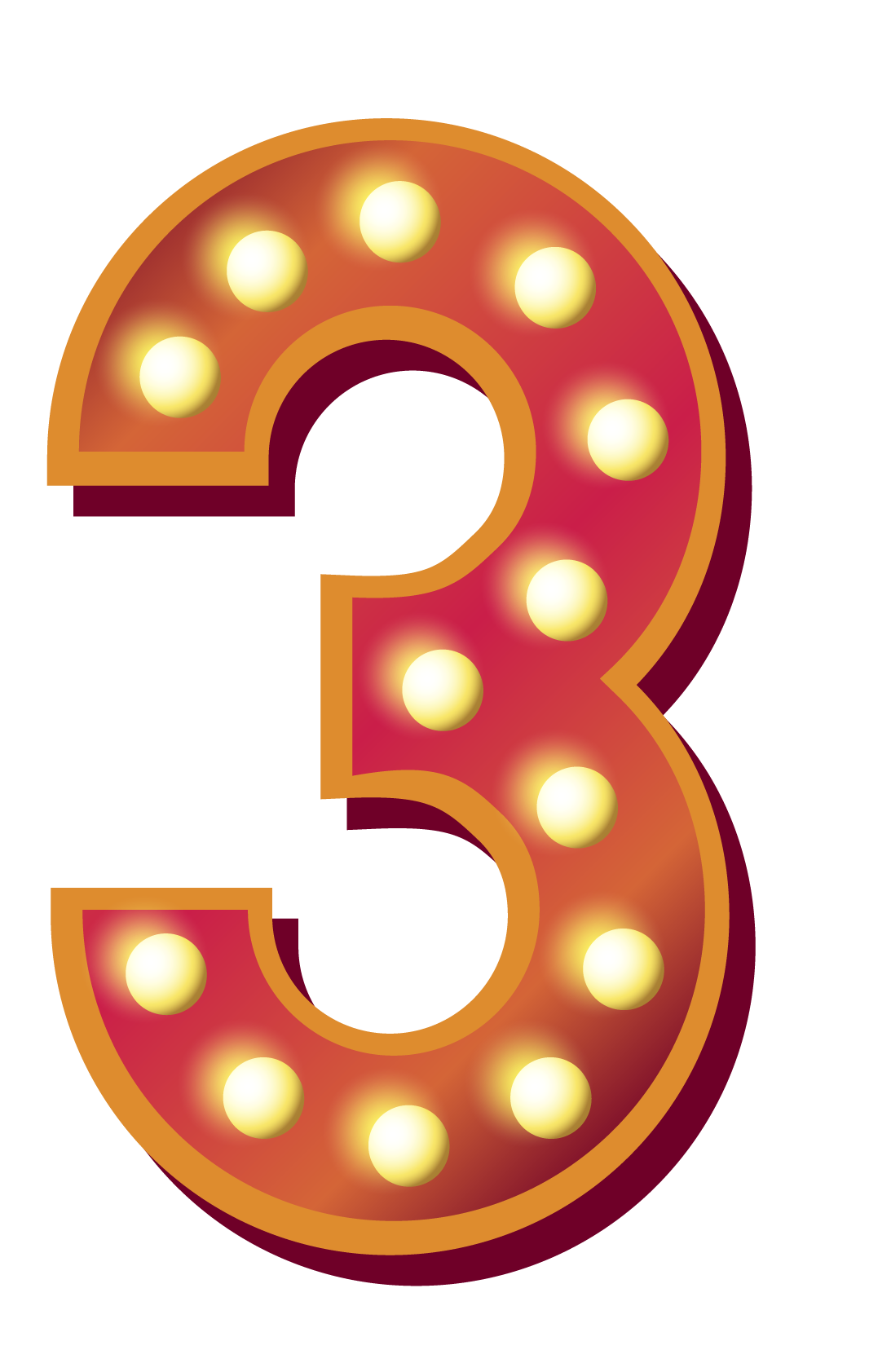 Numbers Free PNG Images.