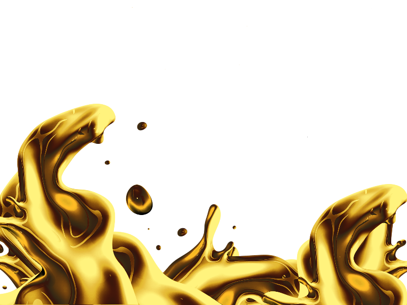 Isolated Liquid Gold Splash Png Free (Isolated.