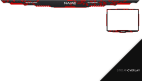 Download free png download stream overlay red png images background.