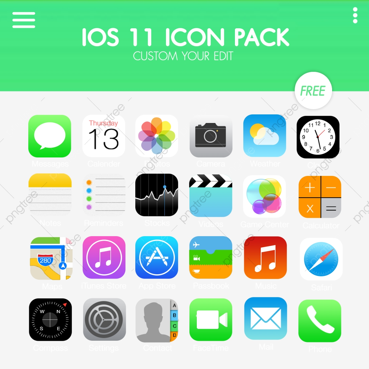 Apple Ios11 Icon Pack, Ios, Ios11, Apple PNG Transparent Clipart.