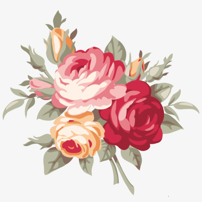 Free Png Download Vintage Rose Png Images Background.