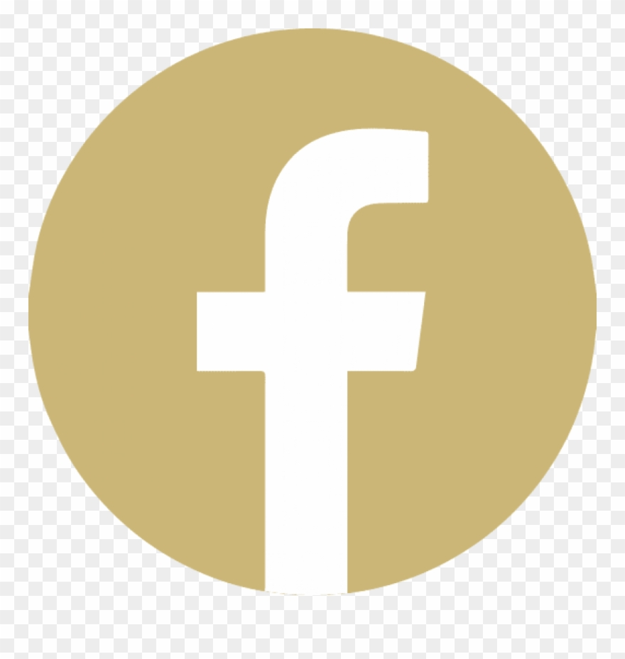 Free Png Download Gold Facebook Icon Png Images Background.