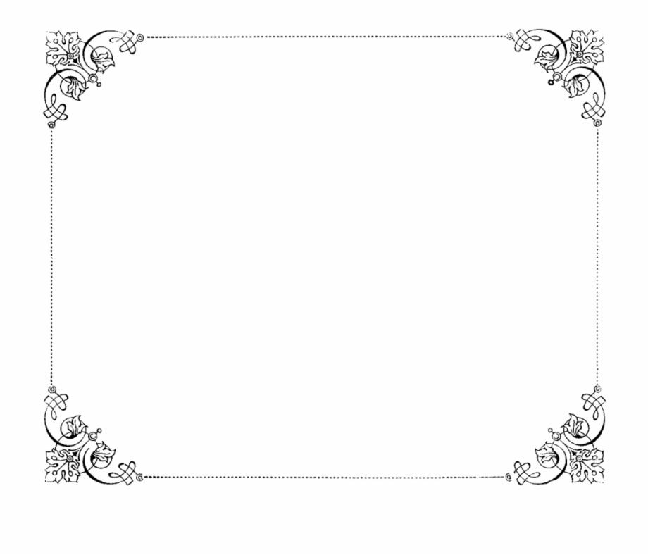 Vintage Border Frame Png, Transparent Png (41023 ).