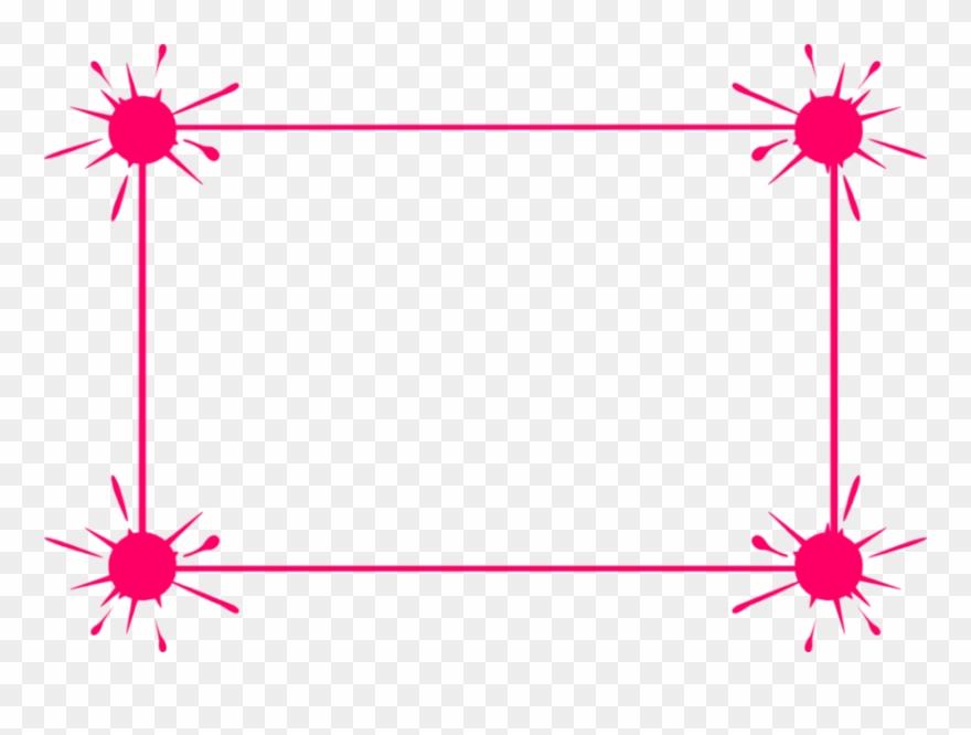 Pink Border Frame.