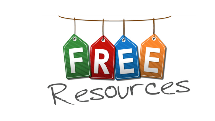 Free Resources.