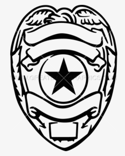 Free Police Badge Clip Art with No Background.