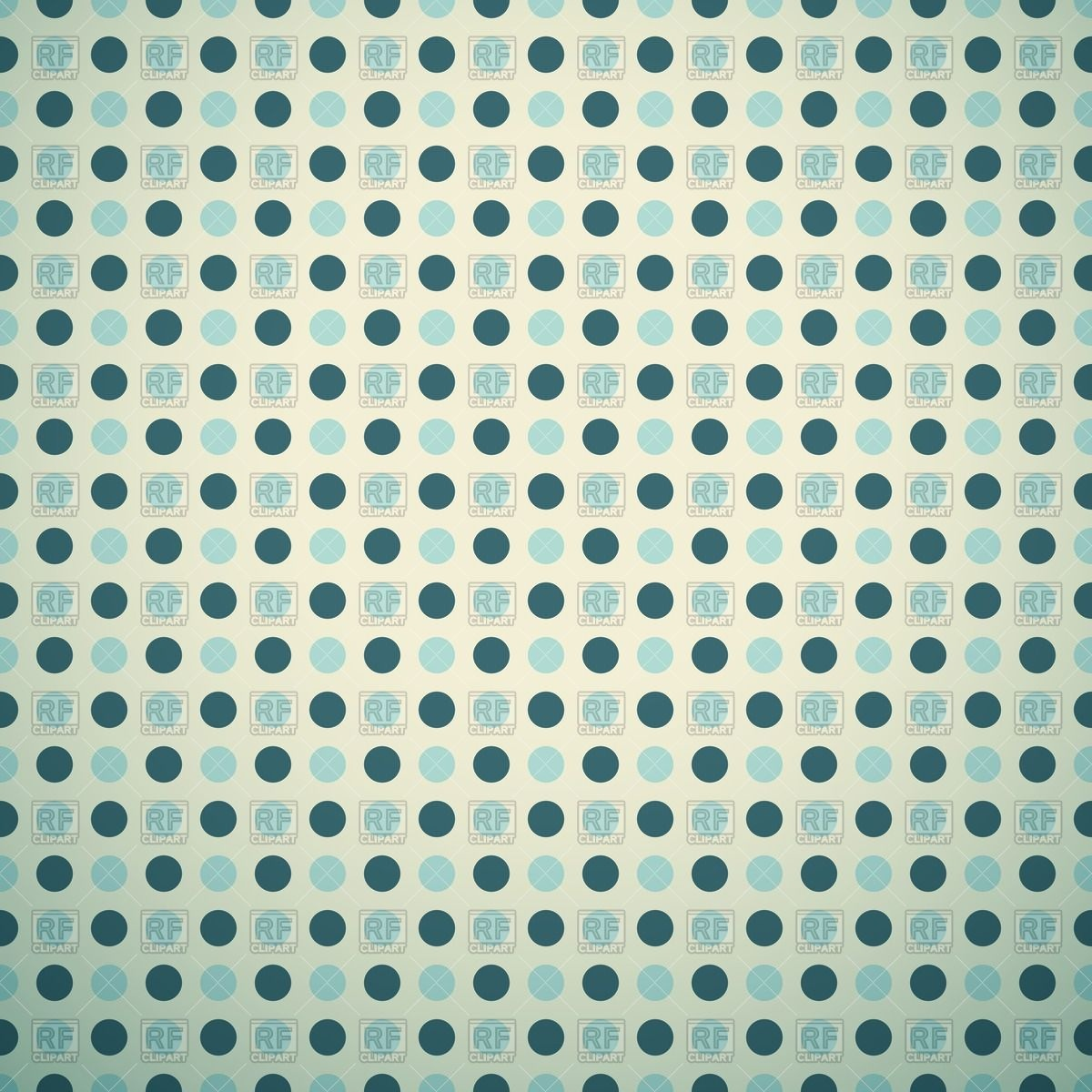 Retro blue polka dot background Stock Vector Image.