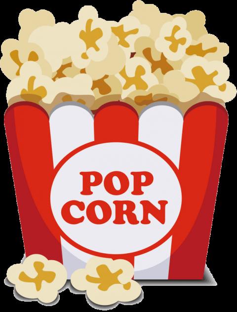 Download popcorn png images background png.