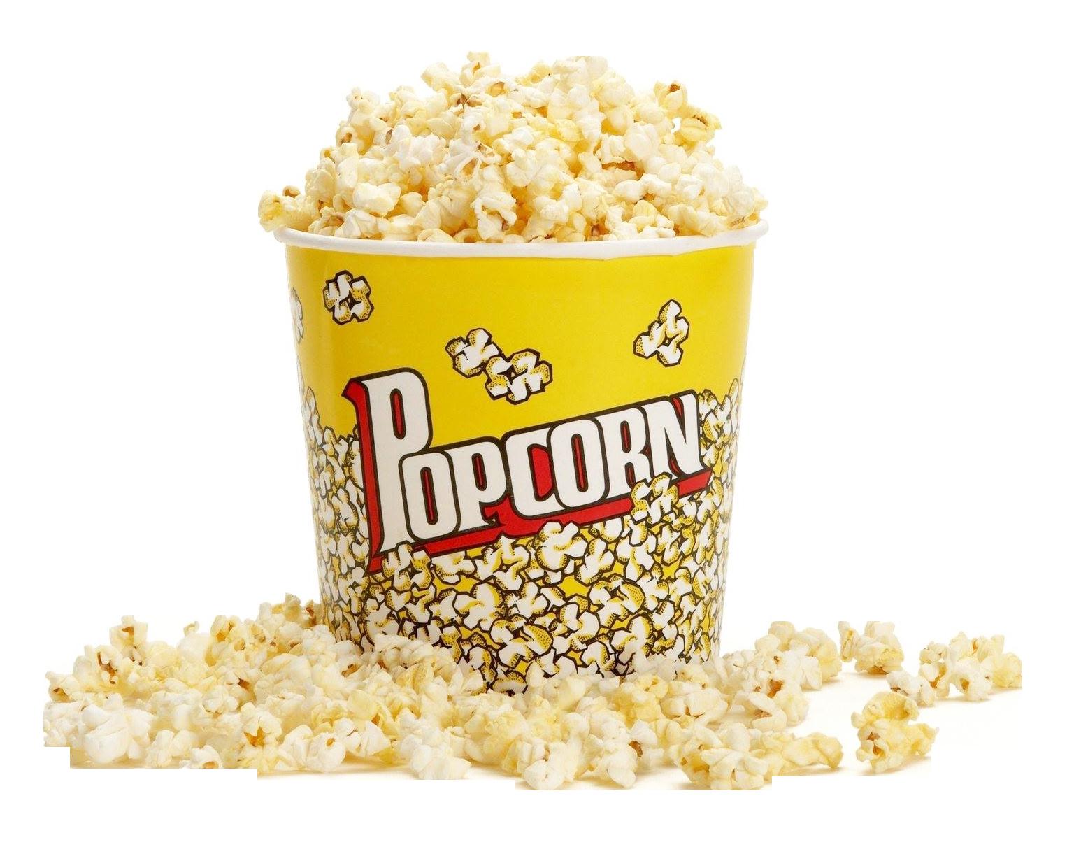 Popcorn PNG Image.