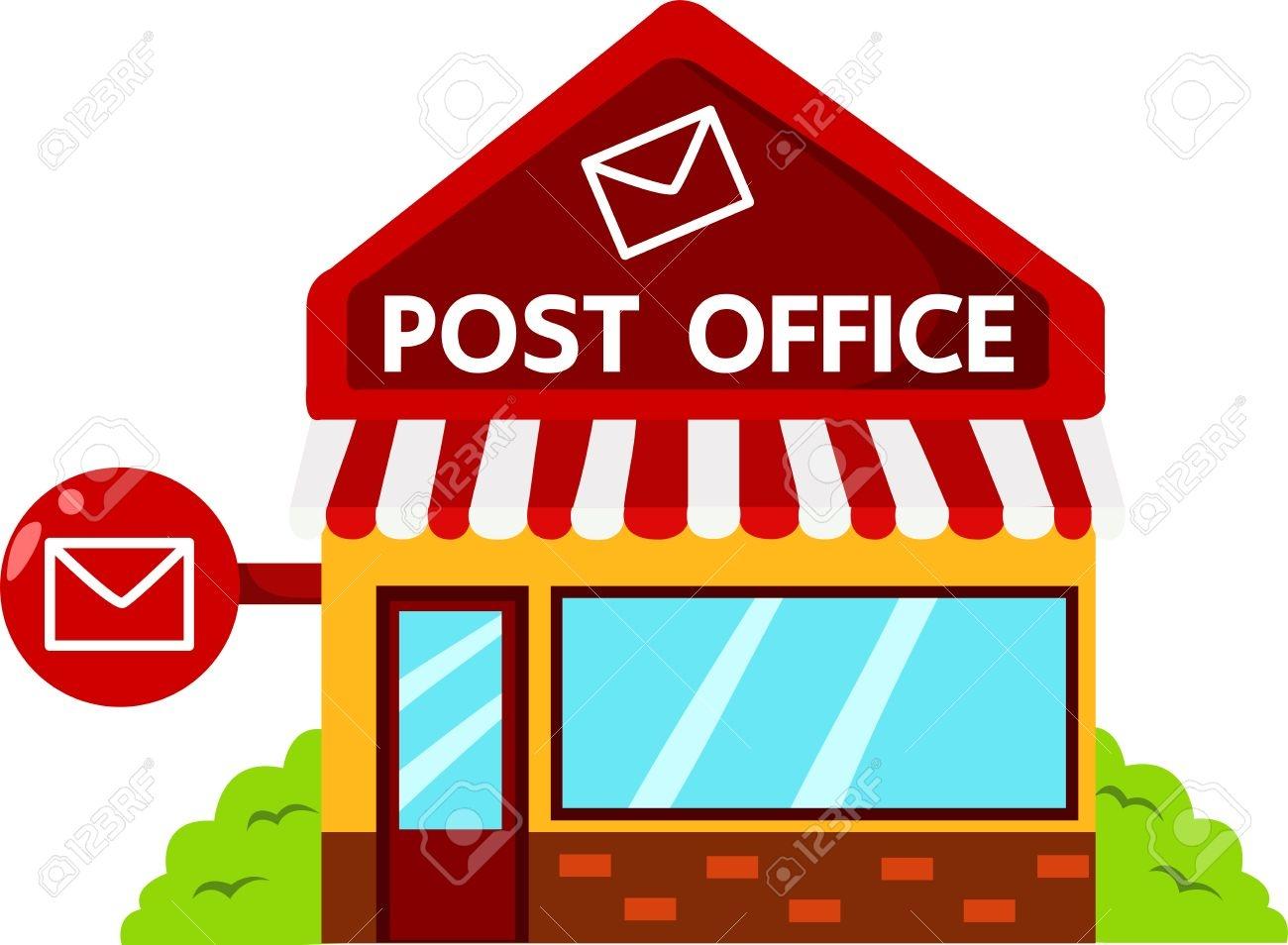 Post office clipart Elegant 47 270 Post fice Cliparts Stock Vector.