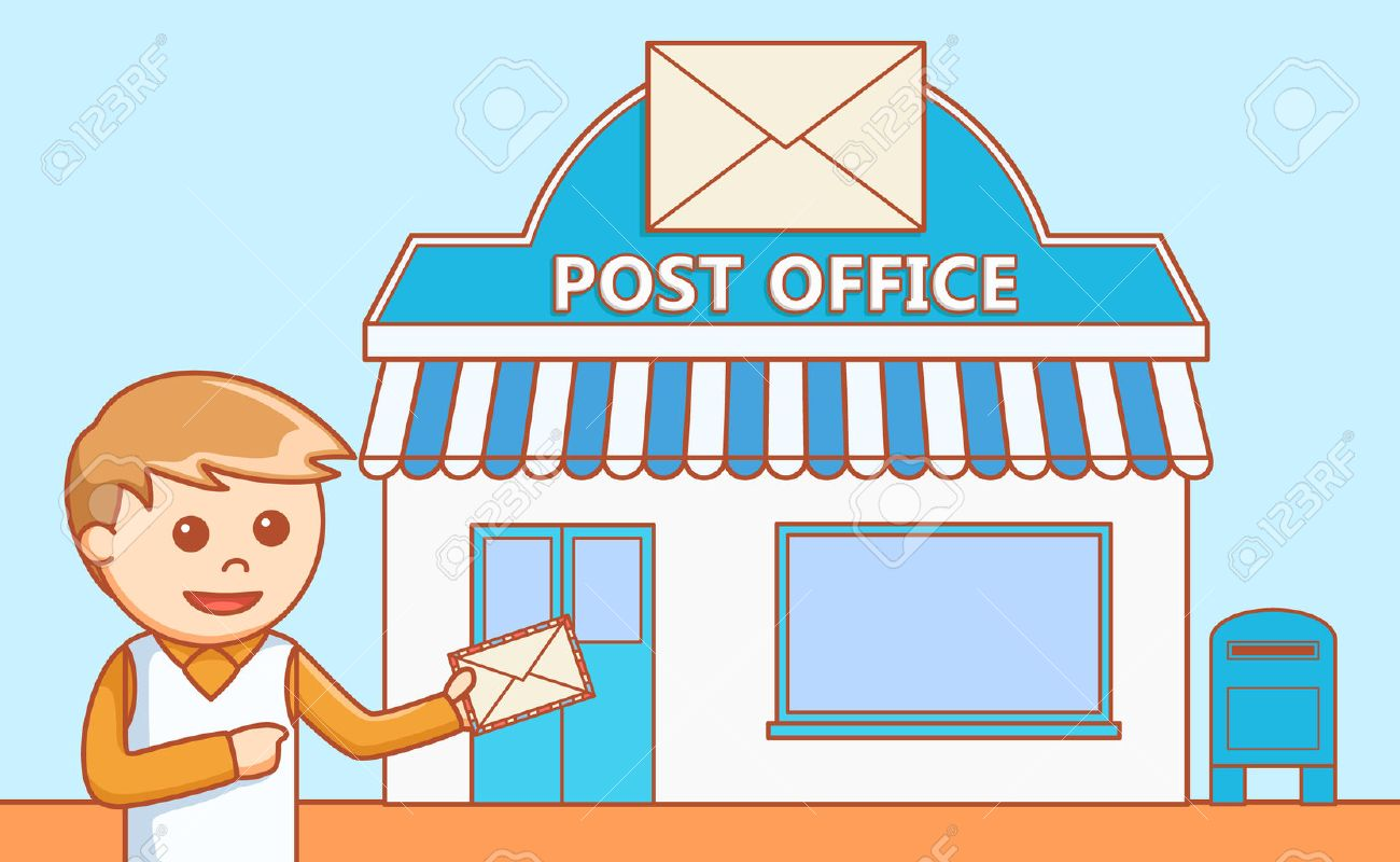 Post office clipart 3 » Clipart Station.