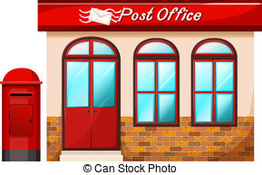 Post office Vector Clipart Royalty Free. 47,564 Post office clip art.