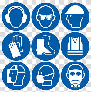 Personal Protective Equipment transparent background PNG.