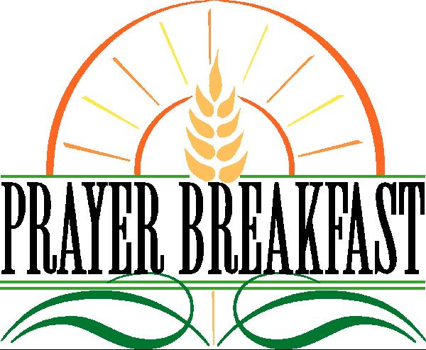 Christian prayer breakfast clipart.