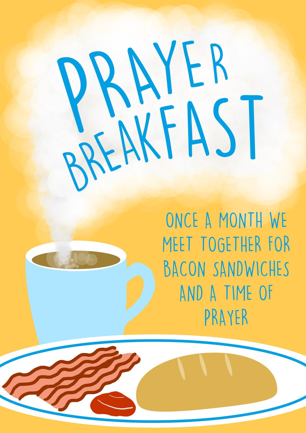 Prayer Breakfast Clip Art.