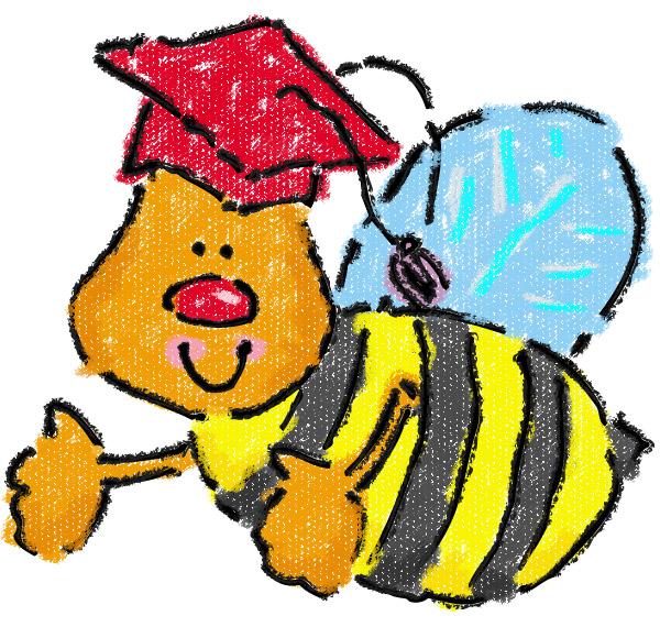 Kindergarten Preschool Graduation Clip Art N2 free image.