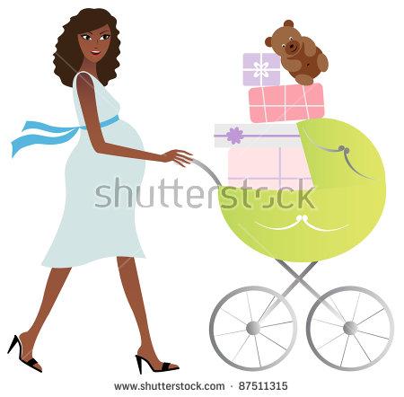 Black Pregnant Woman Stock Vectors, Images & Vector Art.