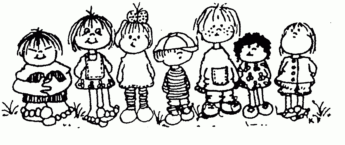 Preschool Clipart Black And White.