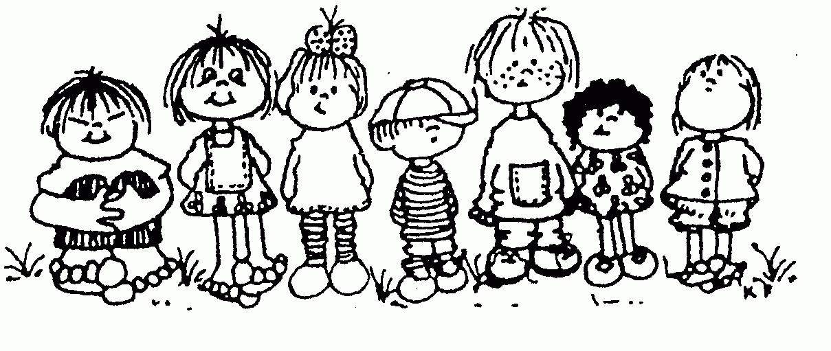 Preschool Clipart Black And White.