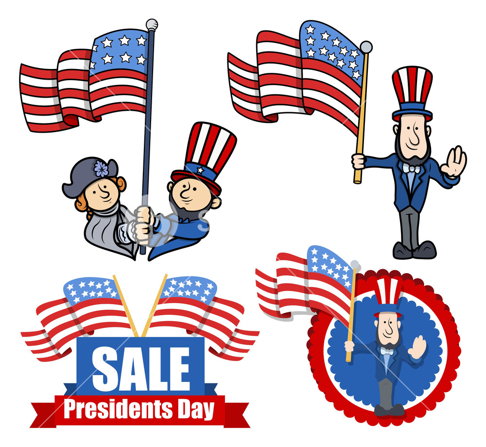 Various Clip Art And Design For Presidents Day Royalty.