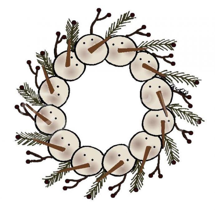 Primitive Christmas Clip Art Free free image.