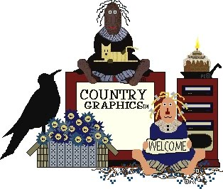 Free Primitive Country Graphics.