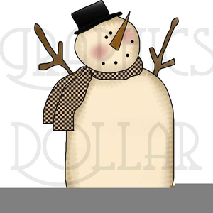 Free Primitive Or Country Clipart.