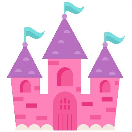 Princess Castle SVG scrapbook cut file cute clipart files for.