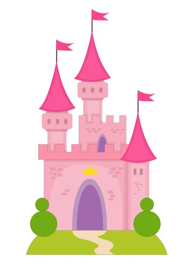 Free castle printable.