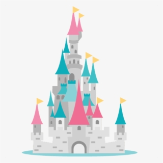 Free Princess Castle Clip Art with No Background.