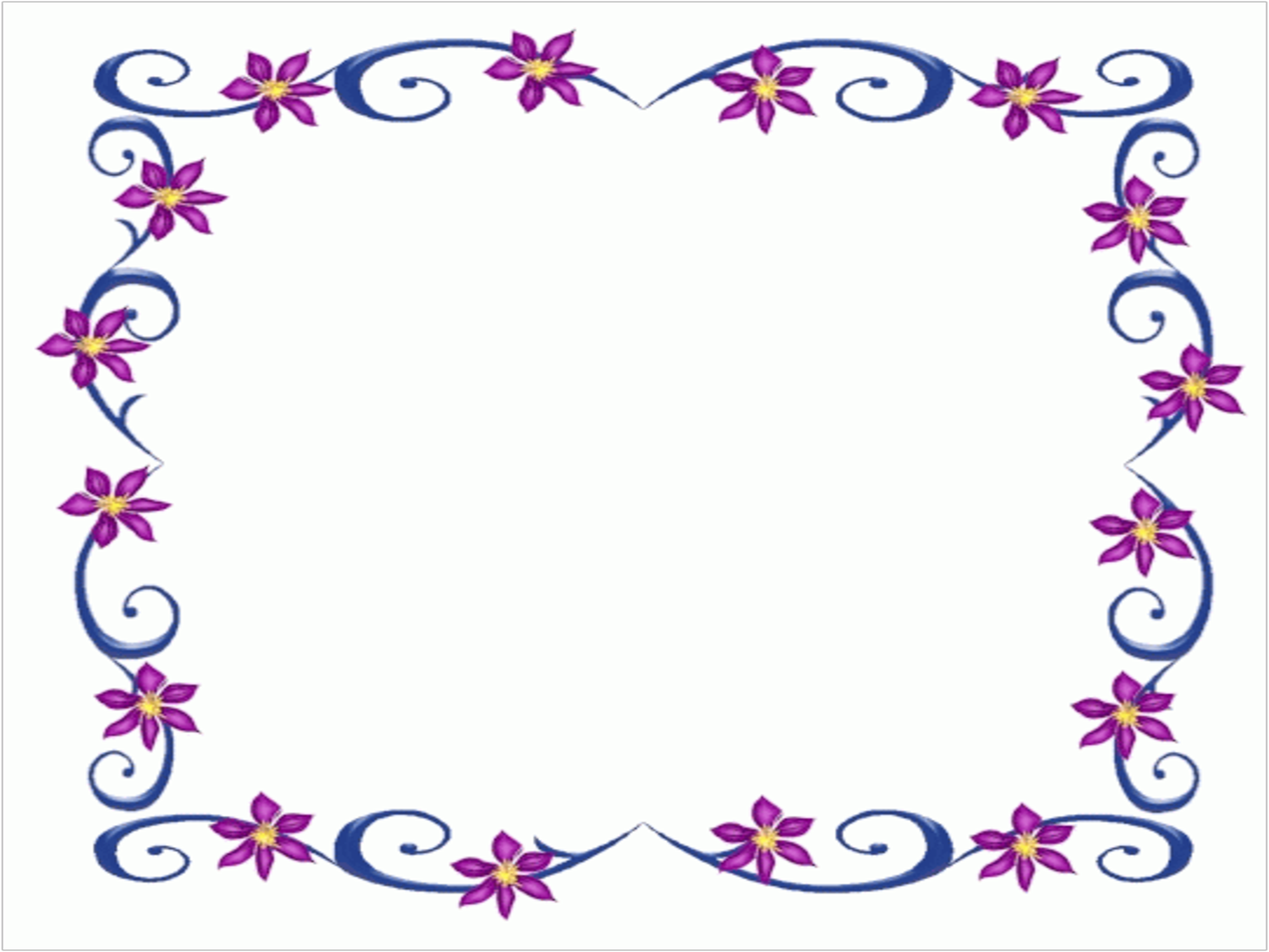 Princess Borders And Frames Clipart.