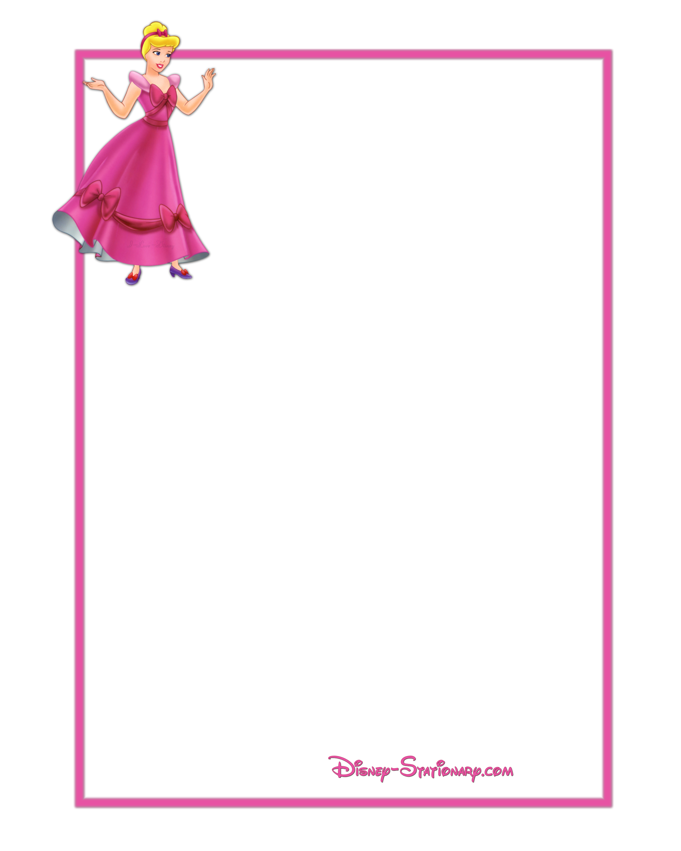 Disney Princess Border Clip Art free image.