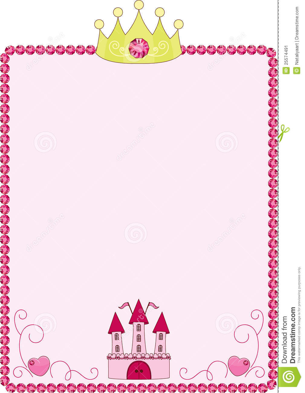 Boarder clipart princess, Boarder princess Transparent FREE.
