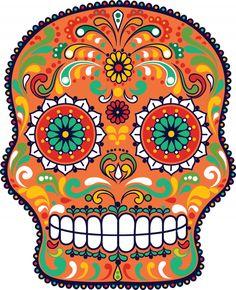 Sugar Skull Advanced Coloring 14.