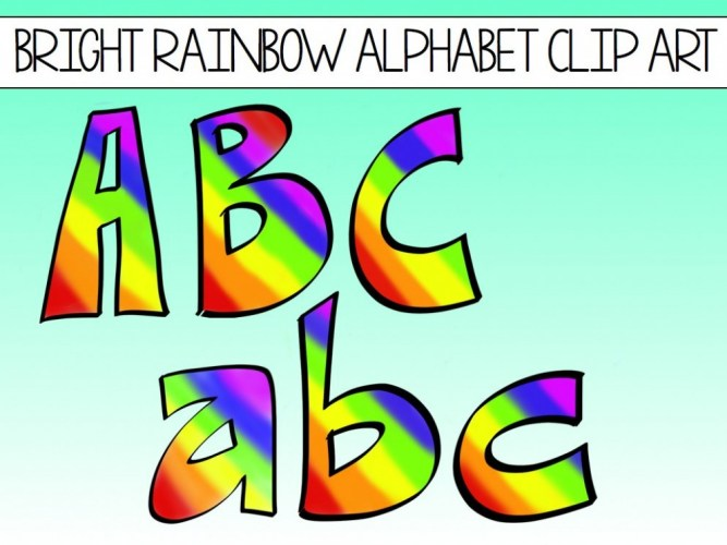 Free Printable Clip Art Alphabet Letters.