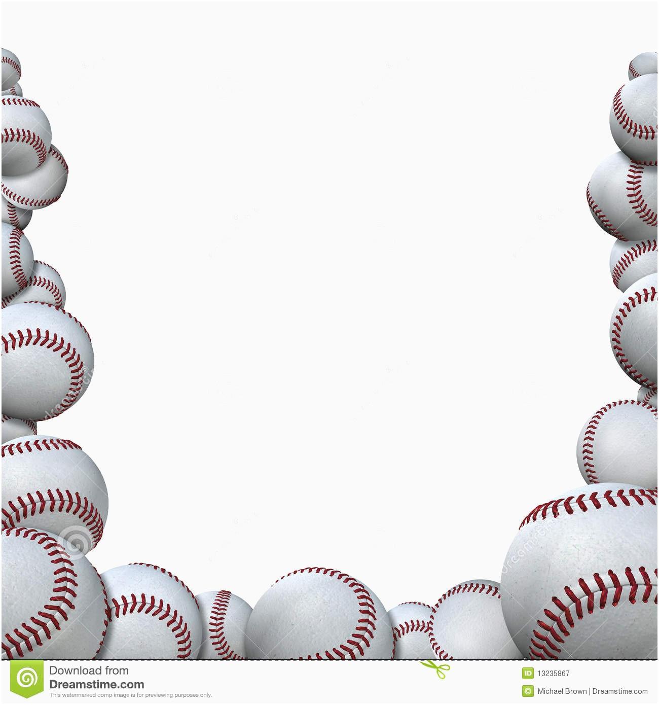 Free Baseball Clipart Borders.