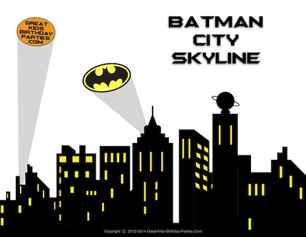 superhero+skyline+backdrop.