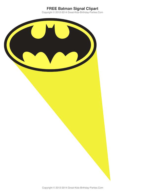 free printable batman clipart