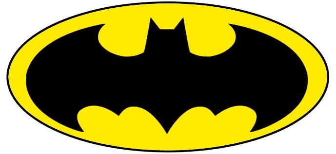 Printable Batman Logo.