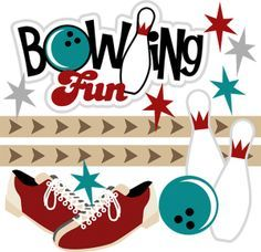 Bowling Free Printable Clipart #1.