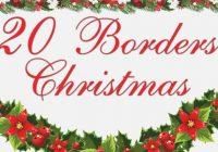 Free Printable Christmas Clipart Borders.