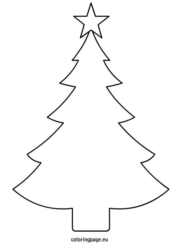 Christmas tree template printable: ….