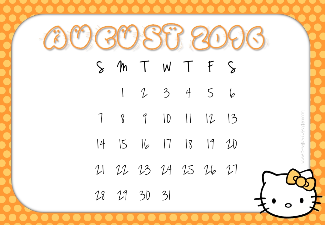 Free Cute August Cliparts, Download Free Clip Art, Free Clip Art on.